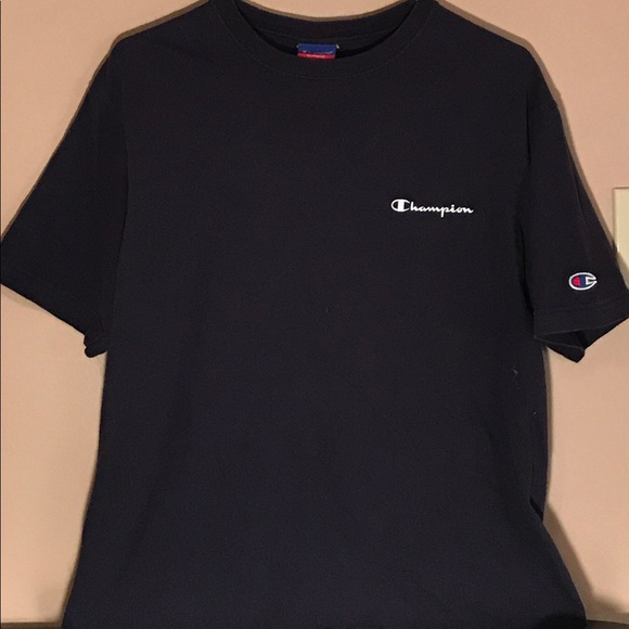 408fe8731c29 Champion Other - Champion Authentic Tee - M - Navy